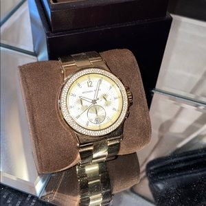 Michael Kora Gold watch